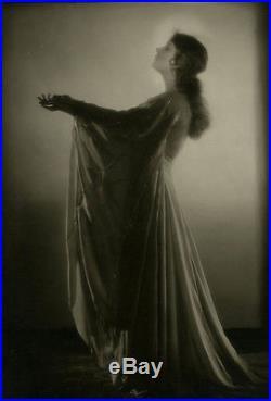 Lili Damita Vintage'20s Moody Dramatic European Silent Film Photograph Jazz Age