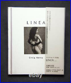 Linea 35 Nudes B&W Japanese Fine Art Photo Book signed by Craig Morey