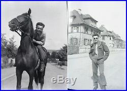 Lot 200+ Vintage B&W Photo Negatives US Army WW2 Soldiers World War 2 Snapshots
