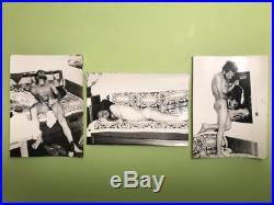 Lot Of 3 Vintage Nude Men Gay Art Photographs David Bowie Social Realism