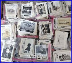 Lot of 3000+ Random B&W Found Old Photos Vintage Snapshots