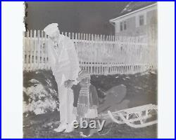 Lot of 46 Vintage Photograph Glass Negatives German Family & 1 Adult Risque