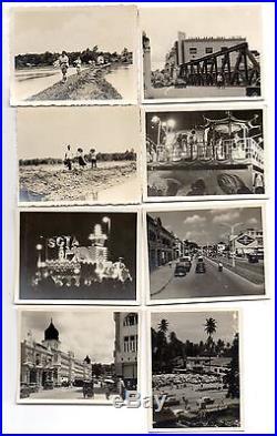 Lot of 59 vintage photos Malaysia Singapore Kuala Lumpur 1959-1962