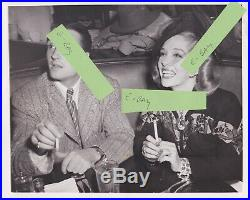 Lupe Velez At The Brown Derby In Hollywood Vintage Original'44 Photo