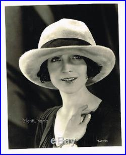 MAE BUSCH Vintage Original 8x10 Portrait Photo By CLARENCE SINCLAIR BULL