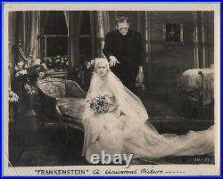 MAE CLARKE & BORIS KARLOFF in Frankenstein Original Vintage Photograph 1931