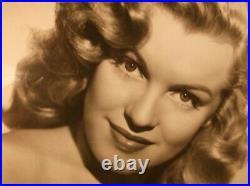 MARILYN MONROE 1949 VINTAGE ORIGINAL Photo Love Happy