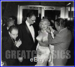 Marilyn Monroe Arthur Miller Prince Showgirl 1956 Candid Original Vintage Photo