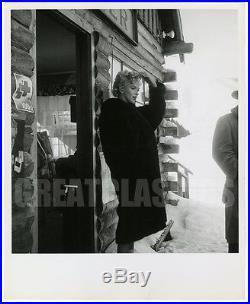 Marilyn Monroe Bus Stop'56 On Set Original Vintage Dblwt Photograph Bob Beerman