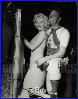 Marilyn Monroe Dale Robertson Baseball 1952 Gorgeous Original Vintage Photograph