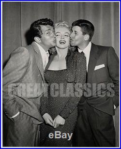 Marilyn Monroe Dean Martin Jerry Lewis 1953 Superb Original Vintage Photograph
