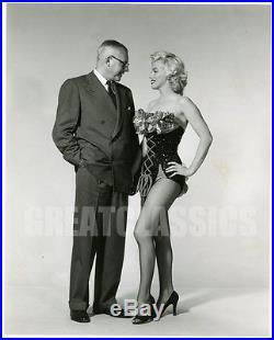 Marilyn Monroe Gentlemen Prefer Blondes'53 Sexy Fishnets Original Vintage Photo