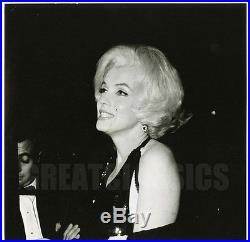 Marilyn Monroe Golden Globes 1962 Original Vintage Dblwt Photograph Gene Daniels