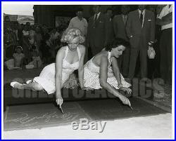 Marilyn Monroe Jane Russell Grauman Chinese Theater 1953 Original Vintage Photo