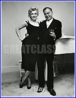 Marilyn Monroe Kermit Bloomgarden'58 Life Mag Original Vintage Dblwt Photograph