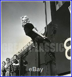 Marilyn Monroe River Of No Return'54 Tight Jeans Original Dblwt Vintage Photo