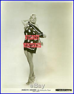 MARILYN MONROE Rare FOX STUDIO Cheesecake Photo VINTAGE Original SEXY Legs LEGGY