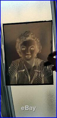 MARILYN MONROE SCARCE AUTHENTIC 1950 Sexy 8 x 10 Vintage Original Negative