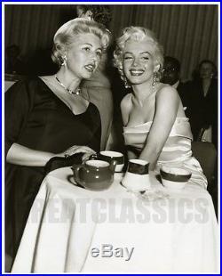 Marilyn Monroe Sheilah Graham Walter Winchell Bday 1953 Orig Vintage Photograph