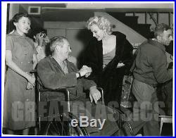 Marilyn Monroe Uso Tour Korea 1954 Rare Candid Original Vintage Photograph