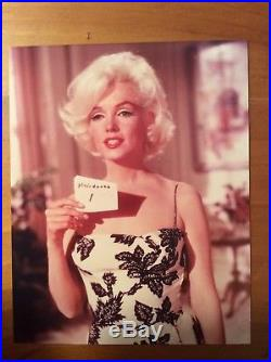 MARILYN MONROE Vintage Something's Got To Give Test photo 1962
