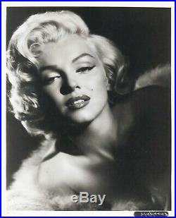 MARILYN MONROE vintage 20th Fox glamour portrait 1953 Frank Powolny photo