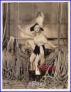 MARION DAVIES Vintage Original Photo 1932 RARE SEXY Pirate Photo BLONDIE FOLLIES