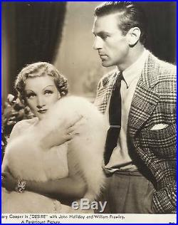 MARLENE DIETRICH & GARY COOPER in Desiree Original Vintage Photograph 1936