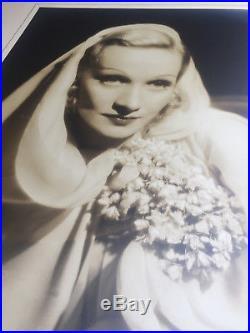 MARLENE DIETRICH original vintage oversize photograph The Garten of Allah 1936