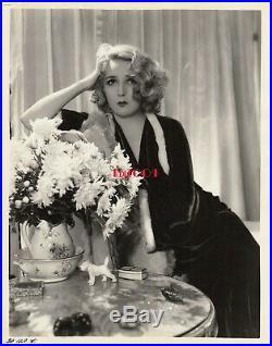 MARY PICKFORD Vintage Original RARE Photo GEORGE HURRELL 1933 Pickford Estate