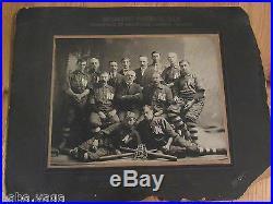 METHODIST BASEBALL CLUB, MILLBROOK LEAGUE CHAMPIONS Vintage Photo LINDSAY CANADA