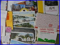 MIXED LOT Vintage B&W Photos 35mm Slides Postcards Envelops +++ HONG KONG China