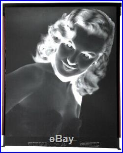 Marilyn Monroe 1948 Vintage Press Photo Negative Love Happy JR Eyerman B&W 8x10