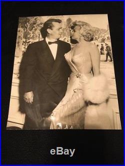Marilyn Monroe 1954 0riginal vintage photo, Alan Ladd