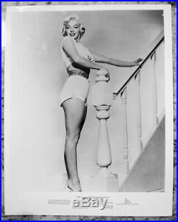 Marilyn Monroe 1955 Vintage Press Photo Seven Year Itch Sam Shaw Date Stamp AP