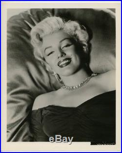 Marilyn Monroe By Frank Powolny Original 1953 Photograph / Vintage Photo J11