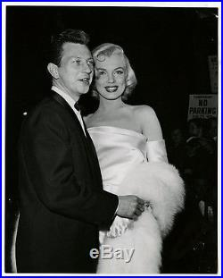 Marilyn Monroe & Donald O'Connor Vintage 1953 Call Me Madam Premiere Photograph