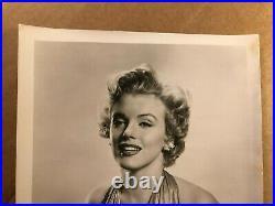 Marilyn Monroe Gorgeous Rare Early Vintage Original Photo'52
