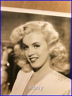 Marilyn Monroe Gorgeous Rare Early Vintage Original Photo'52 #2