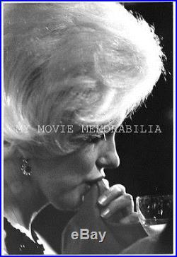 Marilyn Monroe Original Vintage Rare 1962 Gene Daniels Dblwt Photo Golden Globes