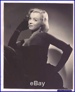 Marilyn Monroe, Original Vintage Studio Photo. Early 50's