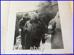 Marilyn Monroe Personal Photos Taken during February1954 Korea USO Trip