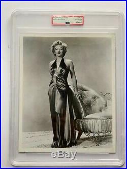 Marilyn Monroe Vintage Frank Powolny Photograph 8 x 10 Reindeer Dress PSA LOA
