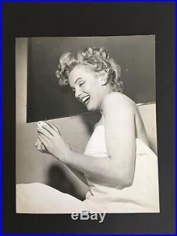 Marilyn Monroe Vintage Photograph 8 x 9 Mel Traxel Beverly Carlton Hotel 1952