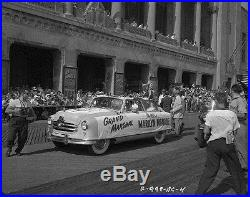 Marilyn Monroe in Atlantic City Miss America Parade 1952 Vintage Camera Negative