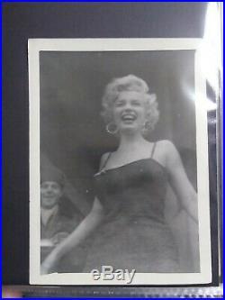 Marilyn monroe vintage original photograph 1953/54 in Korea