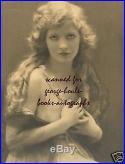 Mary Miles Minter12x16vintagephotograph 1915