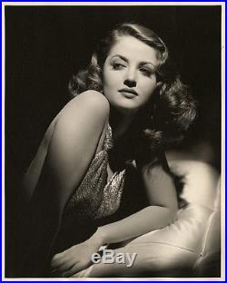 Masterful Fine Art Deco Hollywood Glamour Photograph Martha Vickers Vintage Rare