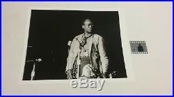Miles Davis April 1969 Original B & W Negative & Photo Nmint Rare Clean Vtg Htf