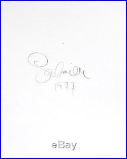 Muhammad Ali Portrait Photo / 8x10 B&w Vintage Gelatin Silver Print / Signed